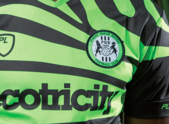 Forest Green Rovers' kit supplier makes its eco-friendly mark on the sports apparel business